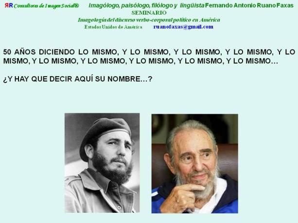 RUANO FAXAS. FIDEL CASTRO