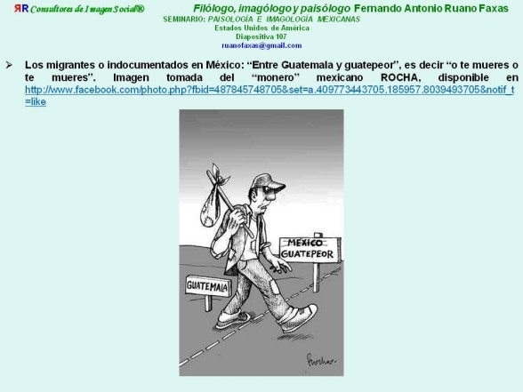 RUANO FAXAS. MIGRACIÓN, SALIR DE GUATEMALA PARA ENTRAR EN GUATEPEOR