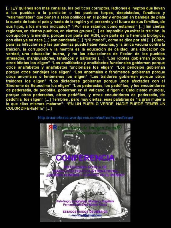 FERNANDO ANTONIO RUANO FAXAS. CORRUPCIÓN, IMPUNIDAD, DERECHOS HUMANOS, LIBERTAD, DICTADURA, FRAUDE ELECTORAL, PERIODISMO, IKRAM ANTAKI, EN UN PUEBLO VERDE NADIE PUEDE TENER UN COLOR DIFERENTE