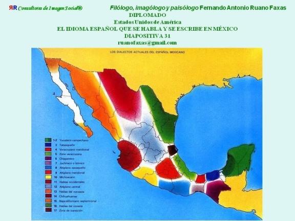 FERNANDO ANTONIO RUANO FAXAS. EL IDIOMA ESPAÑOL DE MÉXICO. DIALECTOS GEOGRÁFICOS Y DIALECTOS SOCIALES. EL RACISMO Y LA SEGREGACIÓN A TRAVÉS DE LAS PALABRAS Y LOS GESTOS