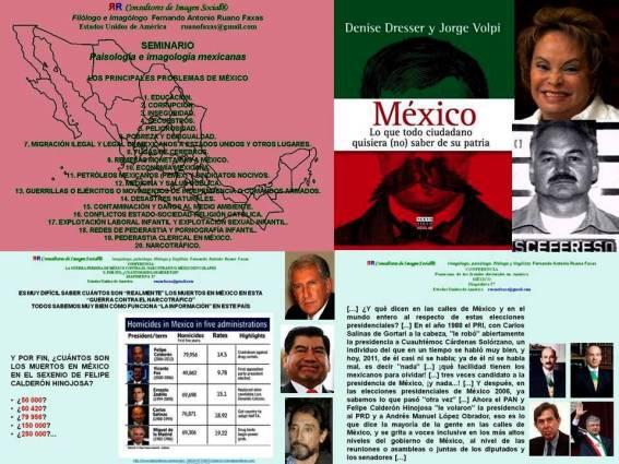 FERNANDO ANTONIO RUANO FAXAS. LOS PRINCIPALES PROBLEMAS DE MÉXICO Y LOS PRINCIPALES DELINCUENTES DE MÉXICO