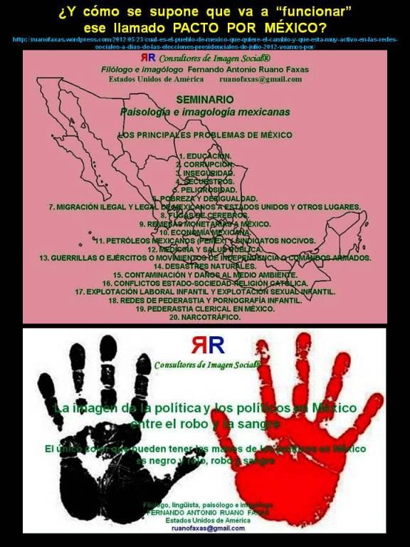 FERNANDO ANTONIO RUANO FAXAS. Y cómo se supone que va a funcionar ese llamado PACTO POR MÉXICO