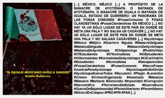 IMAGOLOGÍA. MÉXICO, MÉJICO. MATANZA DE AYOTZINAPA, MASACRE DE AYOTZINAPA. CORRUPCIÓN, IMPUNIDAD