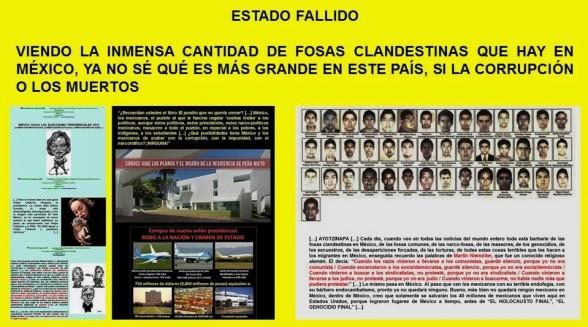 ESTADO FALLIDO. VIENDO LA INMENSA CANTIDAD DE FOSAS CLANDESTINAS QUE HAY EN MÉXICO, YA NO SÉ QUÉ ES MÁS GRANDE EN ESTE PAÍS, SI LA CORRUPCIÓN O LOS MUERTOS