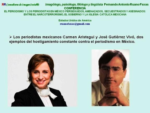 FERNANDO ANTONIO RUANO FAXAS. CARMEN ARISTEGUI EN EL PERIODISMO DIGITAL