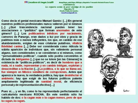 FERNANDO ANTONIO RUANO FAXAS. ELBA ESTHER GORDILLO, YUNES Y CALDERÓN