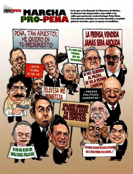 FERNANDO ANTONIO RUANO Faxas. MÉXICO, MARCHA Pintoresca de la ONU un favor de PEÑA NIETO. LAS ELECCIONES EN VENEZUELA CON MADURO, CAPRILES Y HASTA CON CHÁVEZ MUERTO HAN Sacado TODA LA MIERDA DE LAS ELECCIONES EN MÉXICO