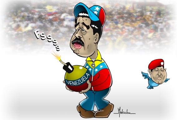 nicolas-maduro-hugo-chavez-pajaro-pajarito-venezuela-elecciones-corrupcion-violencia-hambre-impunidad-derechos-humanos-censura-periodismo