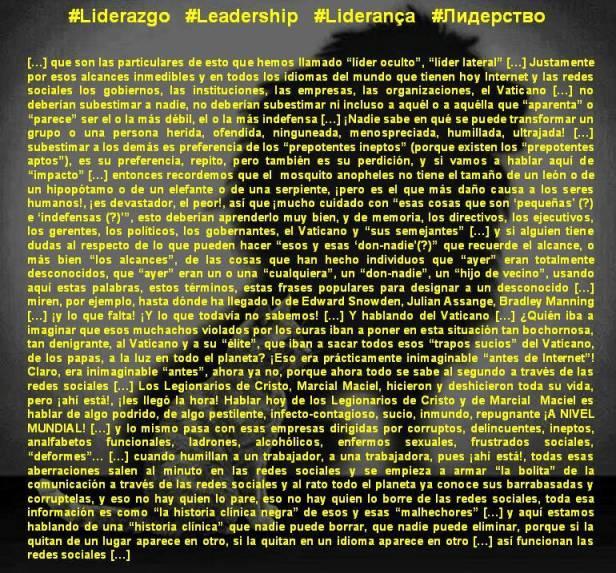 FERNANDO ANTONIO RUANO FAXAS. Liderazgo, Leadership, Liderança, Лидерство. Administración, Gerencia, Management, Gestão, Administração, Gerenciamento, Менеджмент