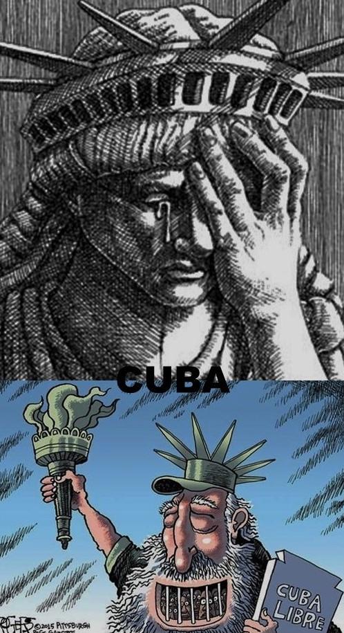CUBA, CUBANOS, CASTRO, DICTADURA, TIRANÍA, LIBERTAD, ELECCIONES, DERECHOS HUMANOS, OPOSICIÓN, OPOSITORES, DISIDENCIA, DISIDENTES , ESTATUA DE LA LIBERTAD