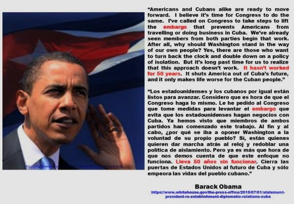 FERNANDO ANTONIO RUANO FAXAS. IMAGOLOGÍA, PAISOLOGÍA. Barack Obama, Estados Unidos, USA, US, EEUU, Cuba, Cubanos, Castro, Bloqueo, Embargo
