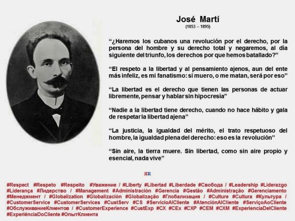 FERNANDO ANTONIO RUANO FAXAS. Jose Marti. Frases, Quotes, Libertad, Liberty