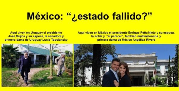 JOSÉ MUJICA, MÉXICO ESTADO FALLIDO, ENRIQUE PEÑA NIETO, ANGELICA RIVERA, CORRUPCIÓN, IMPUNIDAD, AYOTZINAPA