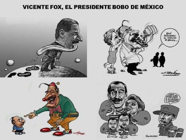 VICENTE FOX, EL PRESIDENTE BOBO DE MÉXICO Y SU ESPOSA LA LADRONA MARTA SAHAGUN. CORRUPCIÓN, IMPUNIDAD, ELECCIONES
