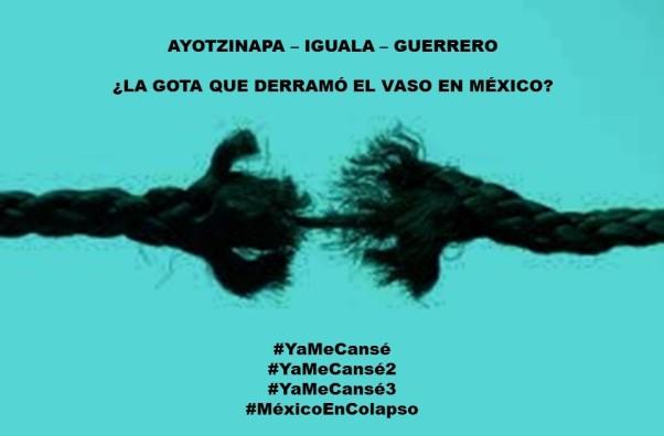 FERNANDO ANTONIO RUANO FAXAS. IMAGOLOGÍA, PAISOLOGÍA, MEXICANÍSTICA, MEXICANOLOGÍA. Ayotzinapa, la gota que derramó el vaso en México. Muertos, desaparecidos, México en colapso