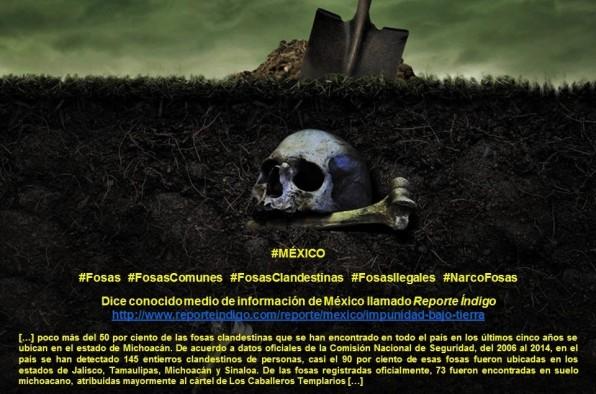 MÉXICO, MICHOACÁN, FOSAS COMUNES, FOSAS CLANDESTINAS, NARCOFOSAS, CORRUPCIÓN, IMPUNIDAD, AYOTZINAPA, MUERTOS, DESAPARECIDOS, SECUESTROS, PLAGIOS