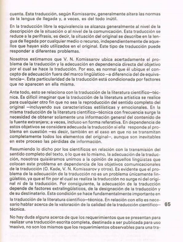 Fernando Antonio Ruano Faxas.TRADUCCIÓN DE LITERATURA CIENTÍFICA Y TÉCNICA.TRANSLATION,TRADUÇÃO,ПЕРЕВОД.Lingüística,Filología,Imagología. 23