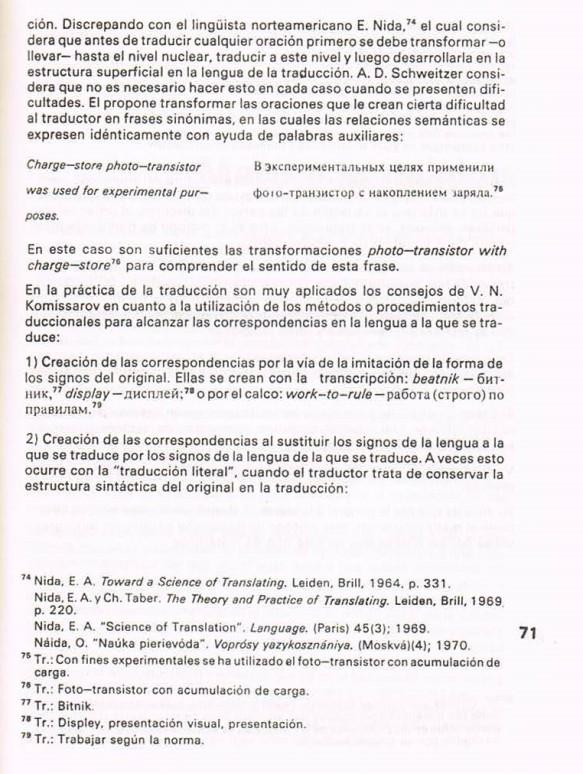 Fernando Antonio Ruano Faxas.TRADUCCIÓN DE LITERATURA CIENTÍFICA Y TÉCNICA.TRANSLATION,TRADUÇÃO,ПЕРЕВОД.Lingüística,Filología,Imagología. 29