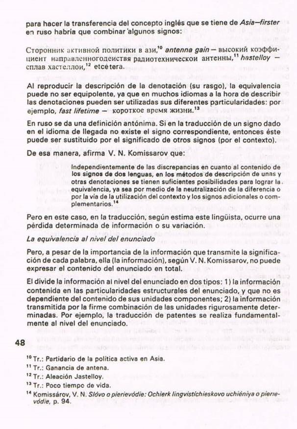 Fernando Antonio Ruano Faxas.TRADUCCIÓN DE LITERATURA CIENTÍFICA Y TÉCNICA.TRANSLATION,TRADUÇÃO,ПЕРЕВОД.Lingüística,Filología,Imagología. 6