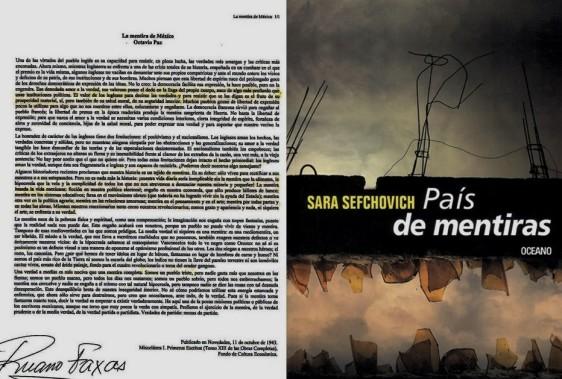FERNANDO ANTONIO RUANO FAXAS. IMAGOLOGÍA. OCTAVIO PAZ, LA MENTIRA DE MÉXICO. SARA SEFCHOVICH, PAÍS DE MENTIRAS. PERIODISMO, PERIODISTAS, ELECCIONES, FRAUDE ELECTORAL