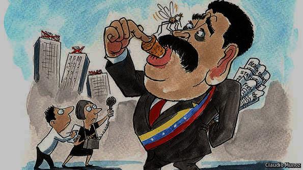 NICOLÁS MADURO, VENEZUELA, VENEZOLANOS, PERIODISMO, PERIODISTAS, LIBERTAD DE EXPRESIÓN, DERECHOS HUMANOS, CENSURA, DICTADURA, ELECCIONES