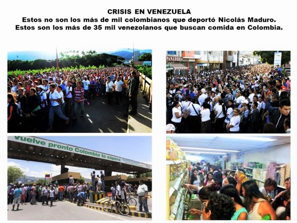 VENEZUELA. VENEZOLANOS BUSCAN COMIDA EN COLOMBIA. NICOLÁS MADURO, DICTADURA, CRSIS, ESCASEZ, HAMBRE, ELECCIONES, REFERÉNDUM REVOCATORIO
