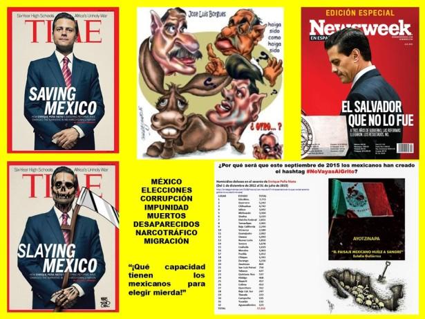 MÉXICO, ELECCIONES, CORRUPCIÓN, IMPUNIDAD, MUERTOS, DESAPARECIDOS, NARCOTRÁFICO, MIGRACIÓN, TIME, Newsweek, PEÑA NIETO, EPN, VICENTE FOX, FELIPE CALDERÓN, ERNESTO ZEDILLO