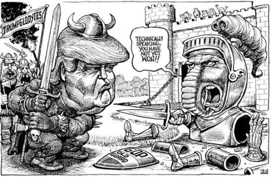 DONAL TRUMP, GOP, REPUBLICANS, REPUBLICANOS