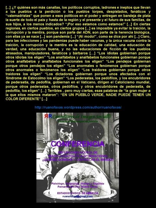 FERNANDO ANTONIO RUANO FAXAS. CORRUPCIÓN, IMPUNIDAD, DERECHOS HUMANOS, LIBERTAD, DICTADURA, ELECCIONES, VOTO, ABSTENCIONISMO, FRAUDE ELECTORAL, PERIODISMO, MÉXICO, IKRAM ANTAKI