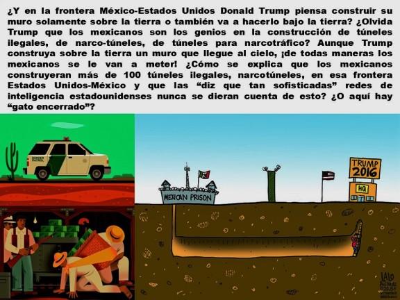 FERNANDO ANTONIO RUANO FAXAS. IMAGOLOGÍA, PAISOLOGÍA. MÉXICO, MEXICANOS, CORRUPCIÓN, NARCOTRÁFICO, LAVADO DE DINERO, TÚNELES, CHAPO, KATE DEL CASTILLO, SEAN PENN, ELECCIONES, TRUMP