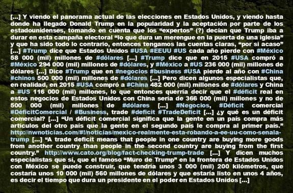 FERNANDO ANTONIO RUANO FAXAS. Imagología, Paisología, Política, Elecciones, México, Estados Unidos, Frontera, Trump, Muro, Wall, Election, Elections, GOP