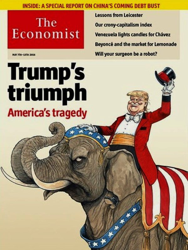TRUMP, AMERICA'S TRAGEDY