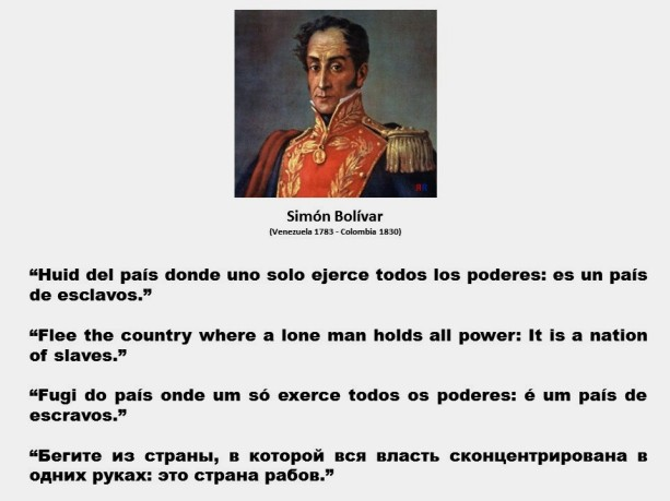 FERNANDO ANTONIO RUANO FAXAS. IMAGOLOGÍA, PAISOLOGÍA. CUBA, AMÉRICA LATINA, LIBERTAD, DERECHOS, ELECCIONES, CORRUPCION, IMPUNIDAD, SIMÓN BOLÍVAR