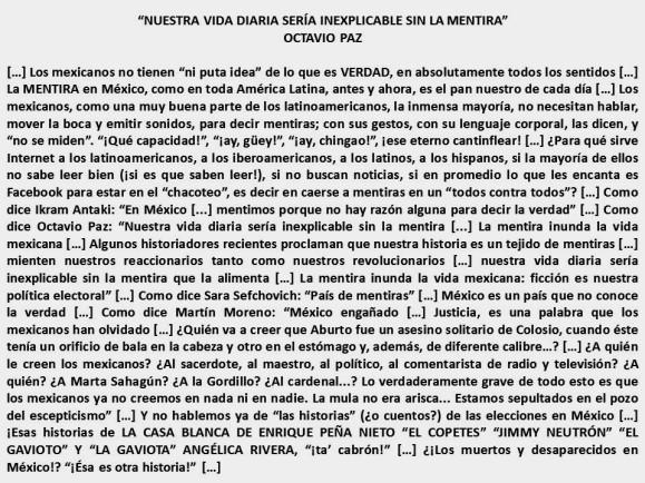 FERNANDO ANTONIO RUANO FAXAS. México, mentira, mentirosos, verdad, traición, traidores, políticos, elecciones, corrupción, impunidad, derechos humanos, muertos, desaparecidos, Ayotzinapa, valemadrismo