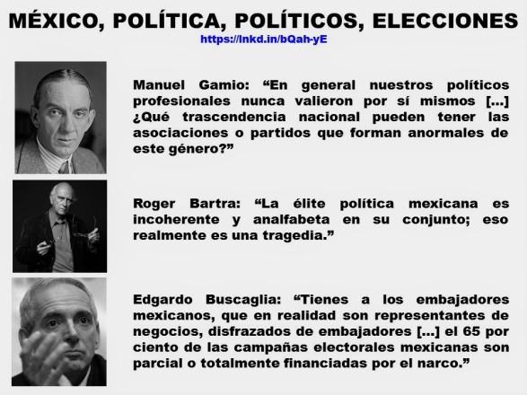 FERNANDO ANTONIO RUANO FAXAS. IMAGOLOGÍA, PAISOLOGÍA, MÉXICO, POLÍTICA, POLÍTICOS, ELECCIONES, MANUEL GAMIO, ROGER BARTRA, EDGARDO BUSCAGLIA, CORRUPCIÓN, IMPUNIDAD, NARCOTRÁFICO, ANALFABETISMO