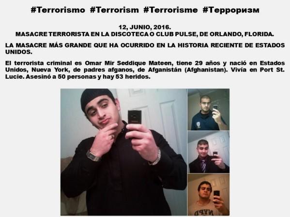 TERRORISMO, TERRORISM, ISIS, ORLANDO, FLORIDA, PULSE. Omar Mir Seddique Mateen, 29 años, nació en Estados Unidos, Nueva York, de padres afganos, Afganistán, Afghanistan.