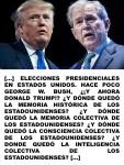 FERNANDO ANTONIO RUANO FAXAS. IMAGOLOGÍA, PAISOLOGÍA. TRUMP, BUSH, ESTADOS UNIDOS DE AMÉRICA, ELECCIONES, MEMORIA HISTÓRICA, MEMORIA COLECTIVA, CONSCIENCIA COLECTIVA, INTELIGENCIACOLECTIVA