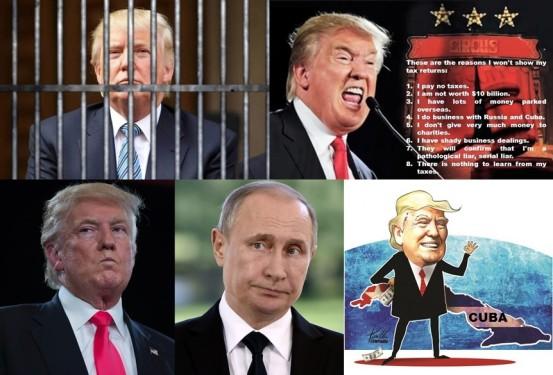 donald-trump-tax-taxes-tax-return-tax-avoidance-tax-evasion-sex-scandals-putin-russia-castro-cuba-embargo-bloqueo-prison-jail-trial-guilty