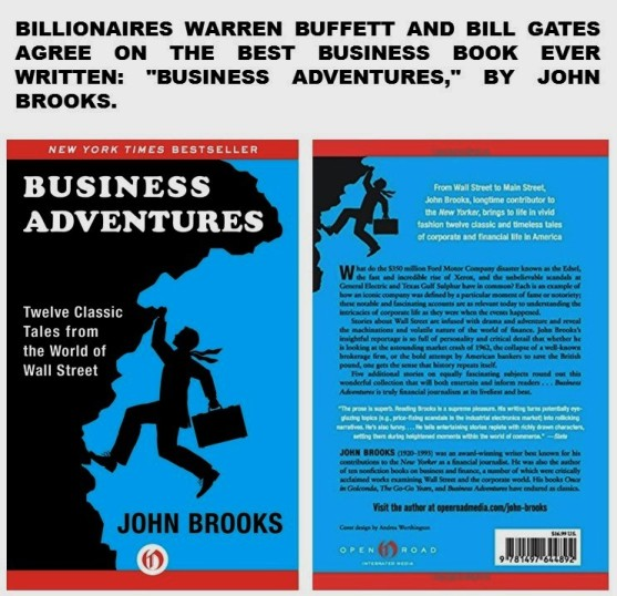 paulina-rendon-aguilar-customer-experience-customer-service-billionaires-warren-buffett-and-bill-gates-agree-on-the-best-business-book-ever-written-business-adventures-by-john-brooks