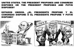 UNITED STATES. THE PRESIDENT PROPOSES AND CONGRESS DISPOSES OR THE PRESIDENT PROPOSES AND PUTIN DISPOSES.DONALD TRUMP,MIKE PENCE,RUSSIA,RUSIA,CLINTON,OBAMA