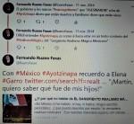 FERNANDO ANTONIO RUANO FAXAS. IMAGOLOGÍA, PAISOLOGÍA, LITERATURA, PERIODISMO, MÉXICO, POLÍTICA, POLÍTICOS, ELECCIONES, MUERTOS, DESAPARECIDOS, ELENA GARRO, LOS RECUERDOS DELPORVENI