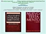 FERNANDO ANTONIO RUANO FAXAS. BIBLIA, RELIGIONES, IMAGOLOGÍA, TEOLOGÍA, EXÉGESIS, ANTIGUO TESTAMENTO, NUEVO TESTAMENTO,DIOS