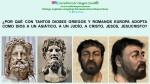FERNANDO ANTONIO RUANO FAXAS. IMAGOLOGÍA, RELIGIONES. POR QUÉ CON TANTOS DIOSES GRIEGOS Y ROMANOS EUROPA ADOPTA COMO DIOS A UN ASIÁTICO, A UN JUDÍO, A CRISTO, JESÚS,JESUCRISTO