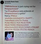 Fernando Antonio Ruano Faxas. The mental health of Trump, Pelosi, Crazy, Schumer, Election, Russia, Rusia, Putin, Mueller, FBI, CIA, Leadership, WhiteHouse